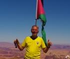 Jordanien Jabal umm ad dami 1854